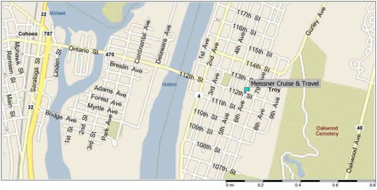 Map to 471 Sixth Avenue